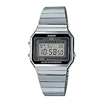 Casio Dames Digitaal Horloge met Roestvrijstalen Band A700WE-1AEF(2)