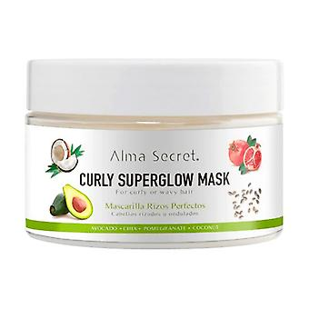 Curly superglow hair mask for curly hair 250 ml of cream