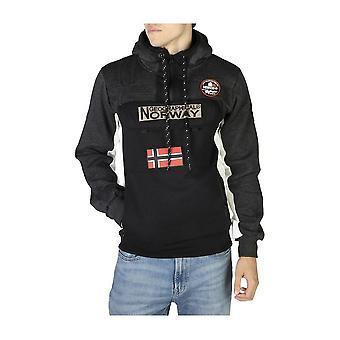 Geographical Norway - Bekleidung - Sweatshirts - Fitakol-man-blandedgrey-black - Herren - dimgray,black - S