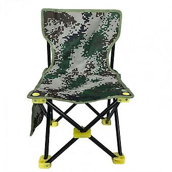 Portable non-slip canvas folding chair with backrest for outdoors, beach, fishing, hunting, camping etc.