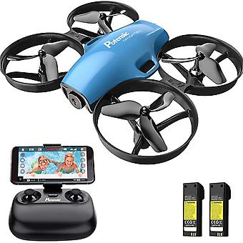 Drone, Rc Mini Quadcopter With Hd Camera, One Button Take Off, Landing, Route