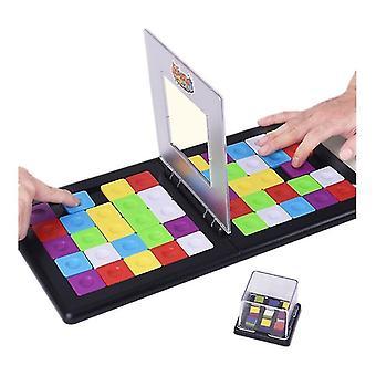 Jeu de société à déplacement carré au rythme rapide cube coloré jeu de table interactif dt5201
