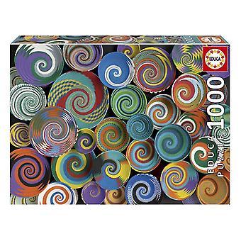 Puzzle Cestas Africanas Educa (1000 adet)