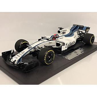 Minichamps 117172040 Williams Martini FW40 Robert Kubica Abu Dhabi Test 2017