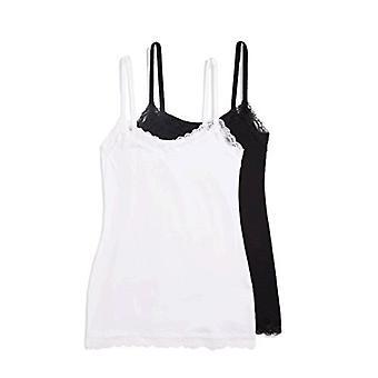Iris & Lilly Women's Lace Trim Vest