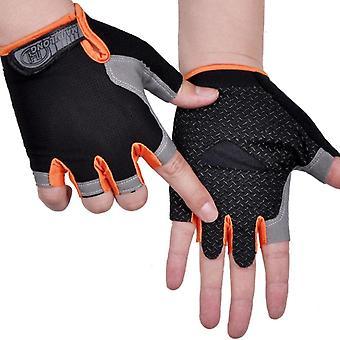 Anti Slip Weight Lifting Gloves, Half Finger Glove