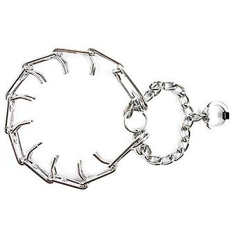 Nayeco Chromed Spiked Collar (Dogs , Collars, Leads and Harnesses , Collars)