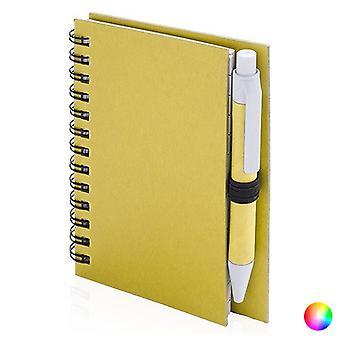 دفتر صغير لولبي مع قلم 144670