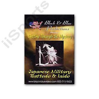 Iaido coupant à travers le mystère japonais Battodo DVD par maître Abbott -Vd6931A