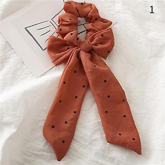 Frauen Elastische Haarbänder Schal