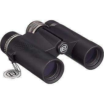 Bresser Condor binoculars 8x25 mm with prisms made of BaK-4 glass material, UR multi-layer coating to increase contrast and waterproof housing with nitrogen filling,(black)
