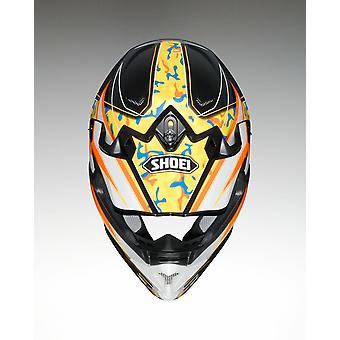 Shoei VFX W Turmoil TC8 Full Face Motorcykel Hjälm Orange