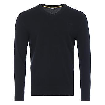 ディーゼル K-アルー V ネック セーター - ブラック