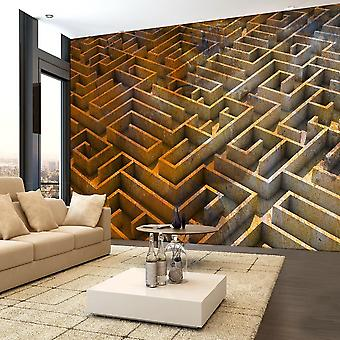 3D tapeter - Rost labyrint