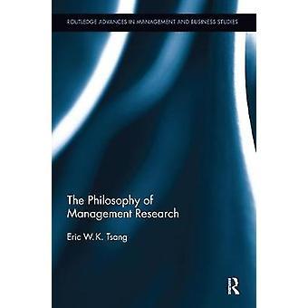 Die Philosophie der Managementforschung