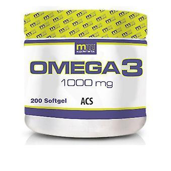 Omega 3 MM Supplements (200 uds)