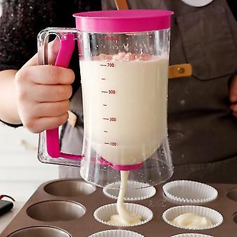 Bakning Essentials Cake Batter Cream Dispenser Deg Cupcake Batter Dispensers Handhållen Muffin