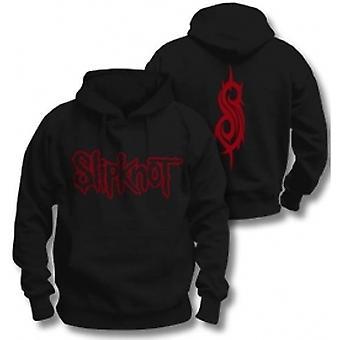 Slipknot Logo Pullover Hoodie Noir: XXL