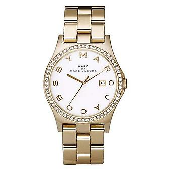 Marc By Marc Jacobs Henry Silver Orologio Classico Oro Donna MBM3045