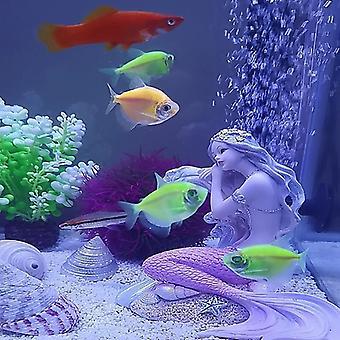 Akvárium Středomořský styl Dekorace Mořská panna Princezna Figuriness Home Ložnice Stolní Dekor