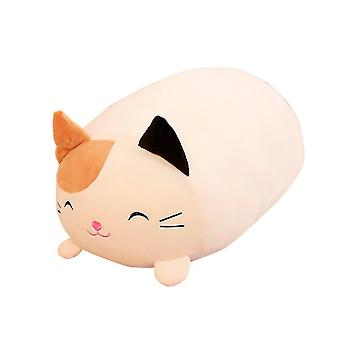 Puppets marionettes homemiyn cat shape down cotton plush toy soft cute doll 28cm brown