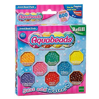 Toy drawing tablets jewel bead pack - multi-coloured