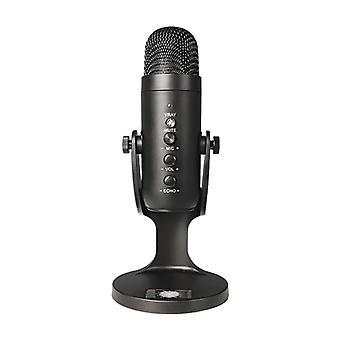 Professzionális streaming stúdió USB mikrofon játék podcast videofelvétel kondenzátor mikrofon alkalmas pc számítógép karaoke mikrofon