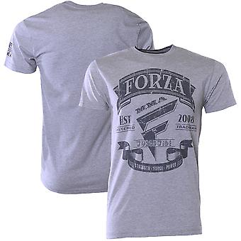 "Forza sport ""Origins"" MMA T-Shirt-Heather donkergrijs"