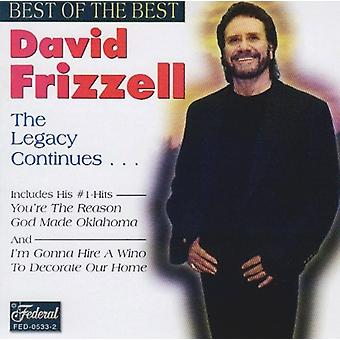 David Frizzell - Best of the Best [CD] USA import