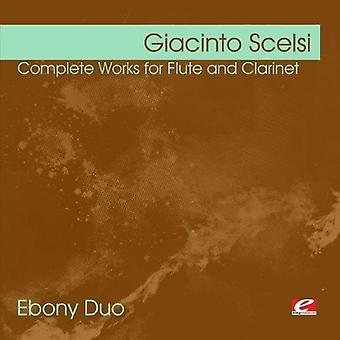 Giacinto Scelsi - Giacinto Scelsi: Complete Works for Flute & klarinet [CD] USA import