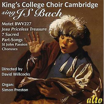 King's College Choir - King's College Choir Cambridge Sings J.S. Bach [CD] USA import