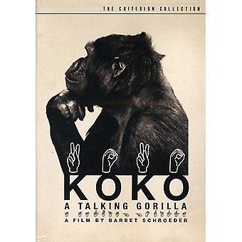 Koko - une CUA Talking Gorilla [DVD] import
