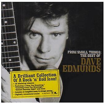 Dave Edmunds - da piccole cose: Importazione USA Migliori di Dave Edmunds [CD]