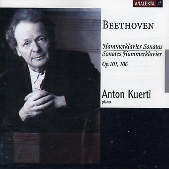 L.V. Beethoven - Beethoven: Hammerklavier Sonatas, Opp. 101, 106 [CD] USA import