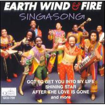 Earth Wind & Fire - Singasong [CD] USA import