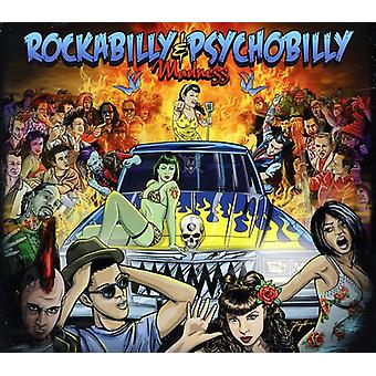 Rockabilly & Psychobilly Madness - Rockabilly & Psychobilly waanzin [CD] USA import