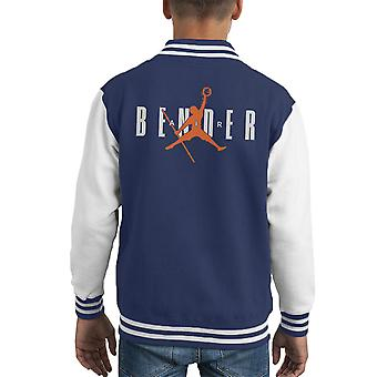 Just Bend It Avatar The Last Airbender Kid's Varsity Jacket