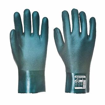Portwest - Cat 3 Chemical Protection Gauntlet Gloves 27cm (1 Pair Pack)