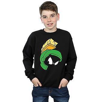 Looney Tunes jongens Marvin de martiaanse gezicht Sweatshirt