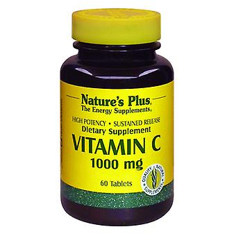 Natures Plus VITAMIN C 1000 MG SUSTAINED RELEASE ROSE HIPS tablets 60