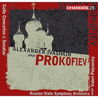 S. Prokofiev - Alexander Ivashkin speelt Prokofiev [CD] USA import