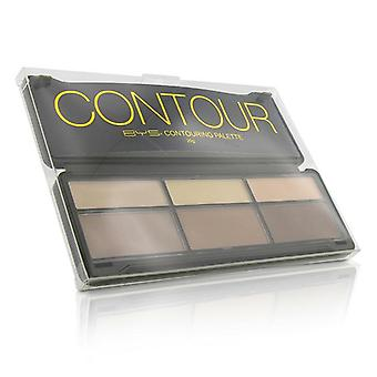 Bys Contour Palette (3x Contouring Powder 3x Highlighting Powder) - 20g/0.7oz