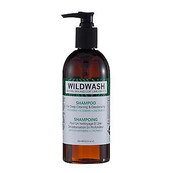 Wildwash Natural Coat Care Deep Cleaning & Deodorising Dog Shampoo