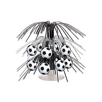 "Football Mini Cascade Centerpiece 7½"""