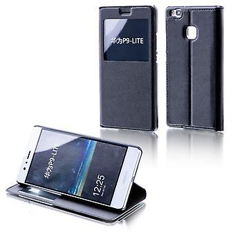 Booktasche ventana negra para Huawei Y6 honor 4A