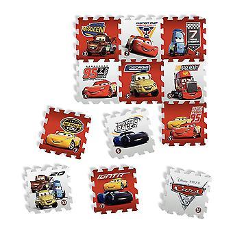 Tatamiz Disney Cars zestaw 12 mata z pianki Puzzle (TTMZ211)