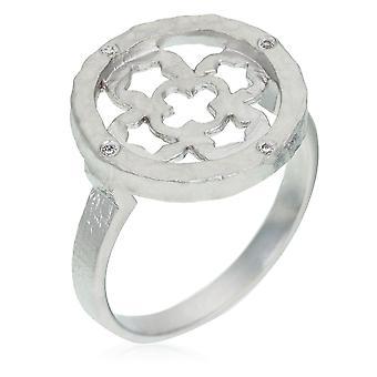 Orphelia srebro 925 pierścień cyrkonu ZR-3940