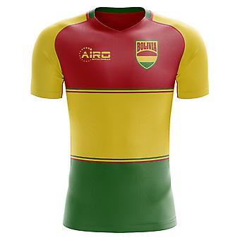 2020-2021 Bolivia Home Concept Football Shirt