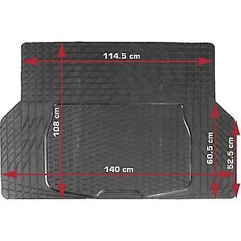 DINO 130026 Boot mat Compatible with (car model) Universal (L x W) 108 cm x 140 cm Black