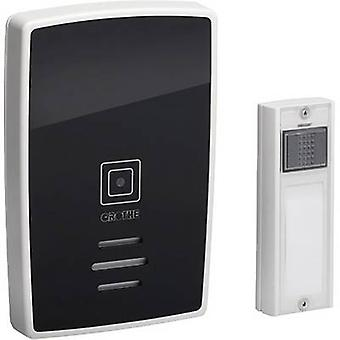 Wireless door chime Complete set incl. nameplate Grothe 43252 Polo
